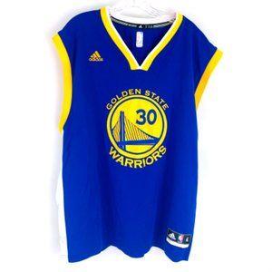 Adidas Stephen Curry Golden State Warriors Jersey 2015 Home XL